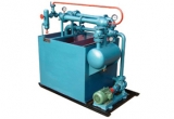 Water Jet Vacuum Unit Working With Water And Steam In Series