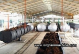 FFB (Fresh Fruit Bunch) of Oil Palm into CPO (Crude Palm Oil) Oil Mill Plant