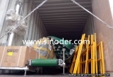 3t/h animal feed pellet mill production line machinery exported to Uzbekistan